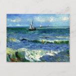 """Van Gogh - Seascape Postcard<br><div class=""""desc"""">Vincent van Gogh - Seascape.</div>"""