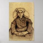 Van Gogh - Seated Woman Posters