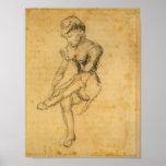 Van Gogh - Seated Woman Print