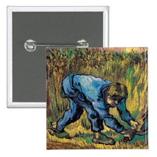 Van Gogh - segador con la hoz (después de mijo) Pin