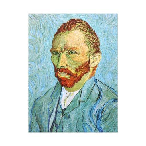 Van Gogh: Self-Portrait, 1890 Stretched Canvas Prints