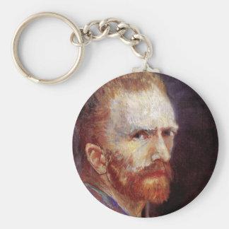 Van Gogh - Self Portrait 8 Key Chains