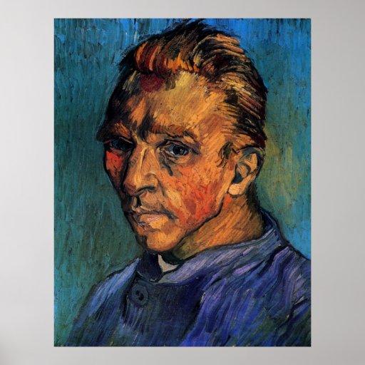 Van Gogh Self Portrait (Beardless) Poster
