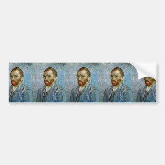 Van Gogh Self-Portrait Bumper Sticker