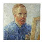 Van Gogh Self Portrait Ceramic Tile
