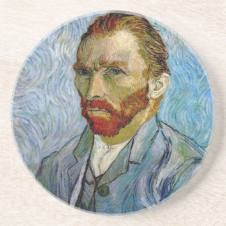 Van Gogh Self Portrait Coaster