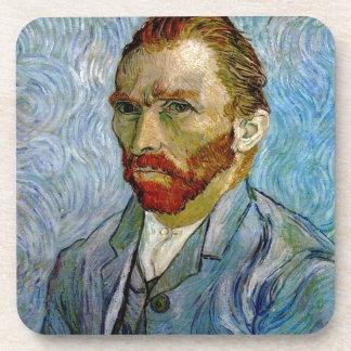 Van Gogh Self Portrait Drink Coaster