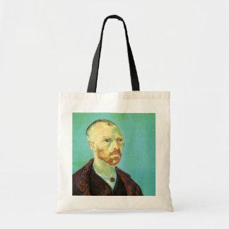 Van Gogh Self Portrait (Dedicated to Paul Gauguin) Tote Bag