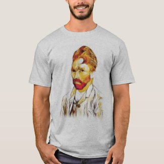 Van Gogh Self Portrait - Hair Do T-Shirt