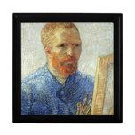 Van Gogh Self Portrait Jewelry Boxes