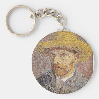 Van Gogh self portrait Keychain