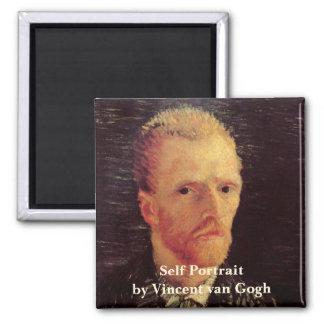 Van Gogh Self Portrait Fridge Magnet