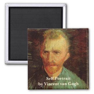 Van Gogh Self Portrait Magnet