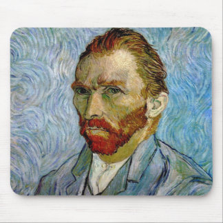 Van Gogh Self Portrait Mouse Pad