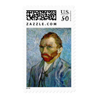 Van Gogh Self Portrait Postage