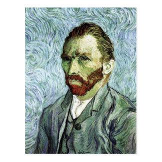 Van Gogh Self-Portrait Postcard