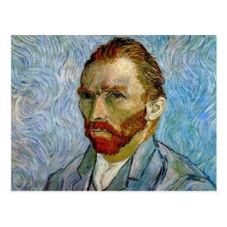 Van Gogh Self Portrait Postcard