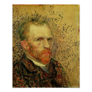 Van Gogh - Self-Portrait Poster