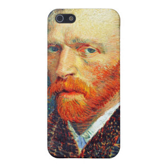 Van Gogh Self Portrait Spring 1887 iPhone SE/5/5s Case