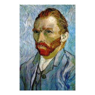 Van Gogh Self Portrait Stationery