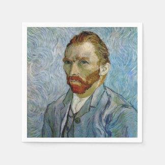Van Gogh Self-Portrait Disposable Napkins