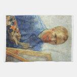 Van Gogh Self Portrait Towels