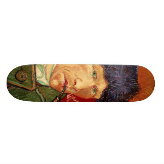 Van Gogh Self-portrait with Bandaged Ear and Pipe Skateboard Deck
