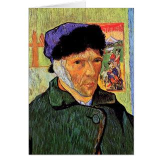 Van Gogh - Self-Portrait With Bandaged Ear Greeting Card