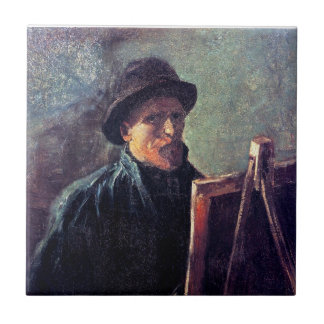 Van Gogh - Self Portrait With Dark Felt Hat Ceramic Tiles