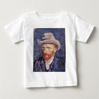 Van Gogh Self-Portrait with Felt Hat Baby T-Shirt