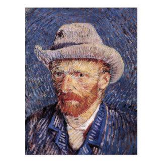 Van Gogh Self-Portrait with Felt Hat Postcard