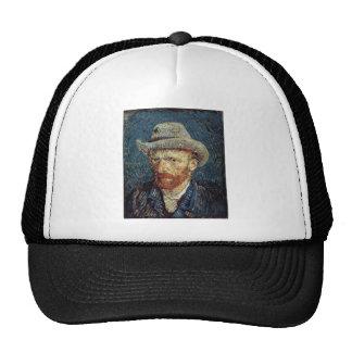 Van Gogh Self-Portrait with Grey Felt Hat