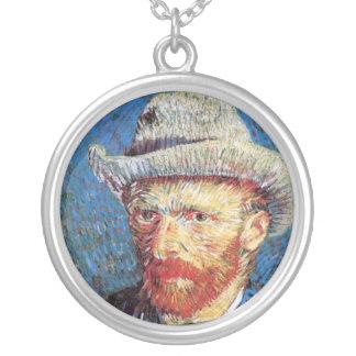 Van Gogh - Self Portrait With Grey Felt Hat Jewelry