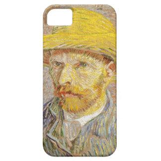 Van Gogh Self Portrait with Straw Hat iPhone Case