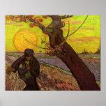 Van Gogh - sembrador Impresiones