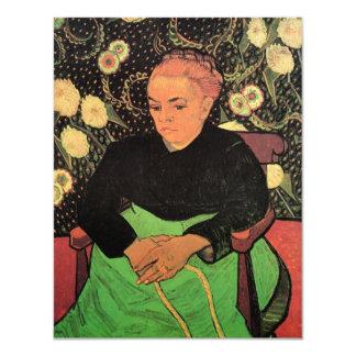 Van Gogh; Señora Roulin Rocking la cuna Invitación 10,8 X 13,9 Cm