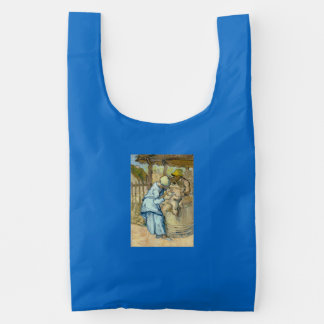 Van Gogh Sheep Shearer after Millet Reusable Bag