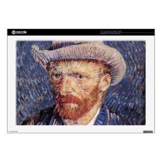 "Van Gogh Skin For 17"" Laptop"