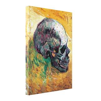 Van Gogh - Skull Gallery Wrap Canvas