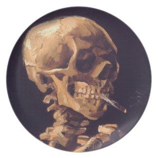 Vincent van Gogh: Skull with Burning Cigaret