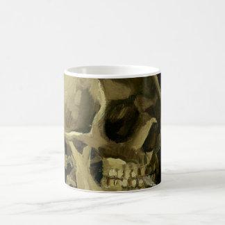 Van Gogh   Skull with Burning Cigarette   1886 Coffee Mug