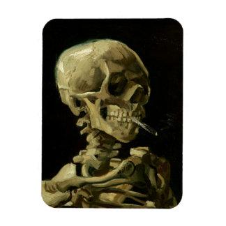 Van Gogh | Skull with Burning Cigarette | 1886 Magnet