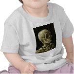 Van Gogh - Skull with Burning Cigarette Shirts