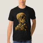 Van Gogh - Skull With Burning Cigarette T-Shirt