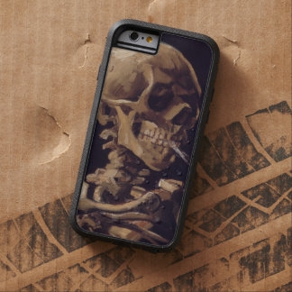 Van Gogh Skull with Burning Cigarette Tough Xtreme iPhone 6 Case