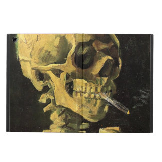 Van Gogh Skull with Burning Cigarette, Vintage Art iPad Air Cases