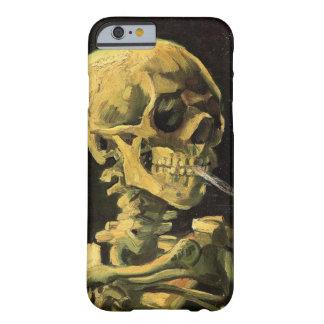 Van Gogh Skull with Burning Cigarette Vintage Art iPhone 6 Case