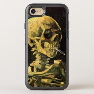 Van Gogh Skull with Burning Cigarette, Vintage Art OtterBox Symmetry iPhone 8/7 Case