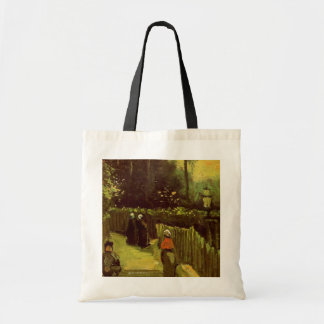 Van Gogh; Sloping Path in Montmartre, Vintage Art Tote Bag