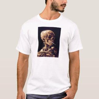 Van Gogh Smoking Skull T-Shirt